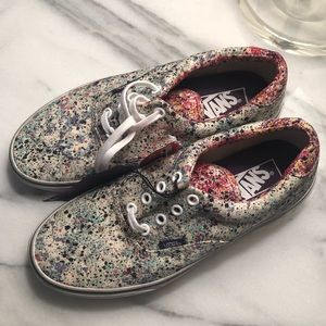 Liberty x Vans old school shoes size 7.5